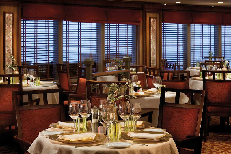 Aboard Silver Spirit, La Terrazza offers Italian dishes with the freshest ingredients. It's also open for breakfast and lunch with seating indoor or al fresco.