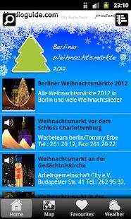 Weihnachtsmärkte Berlin 2012 - screenshot thumbnail