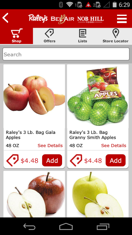 Raley's- screenshot