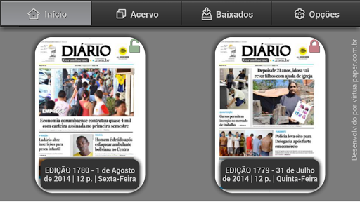 Jornal Diário Corumbaense