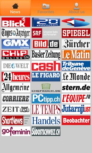 Schweiz News.Schweiz Zeitungen