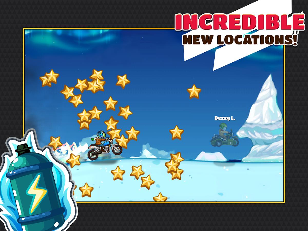 Screenshots of Extreme Bike Trip for iPhone