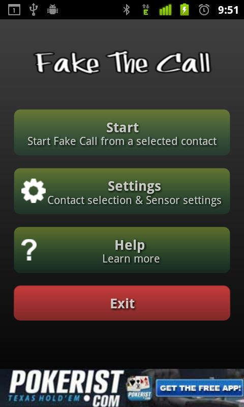 Fake the Call Lite- screenshot