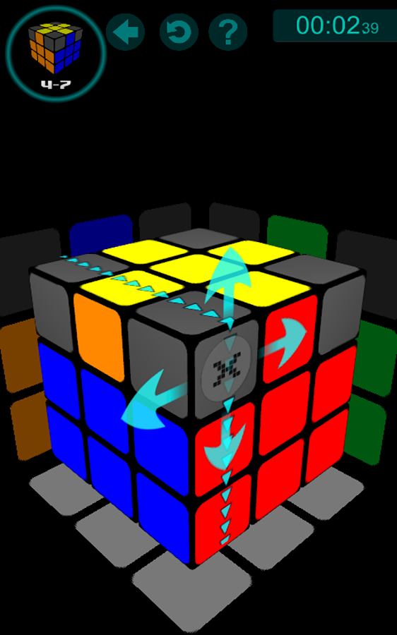 Solve The Cube- screenshot