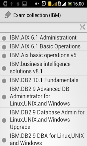 Exam cpllection IBM