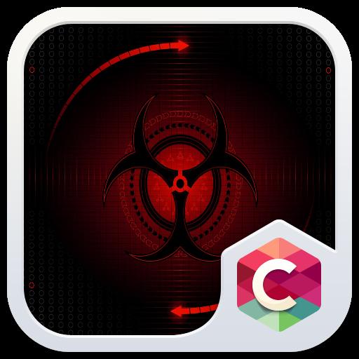 抽象红色主题 生活 App LOGO-硬是要APP