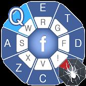 facebook Style Keyboard
