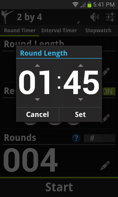 Get Fight Fit Timer Demo- screenshot