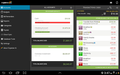 Expense IQ - Expense Manager v1.0.8 build 47
