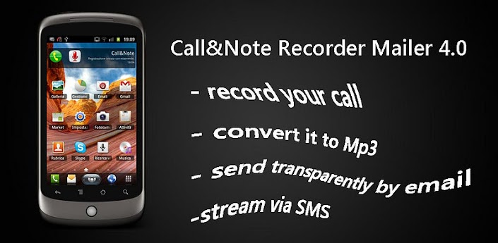 Call&Note Recorder Mailer PRO 4.4.3 APK