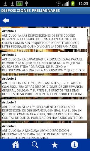 Codigos Sinaloa