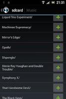 Screenshot of XMMS2 Playground