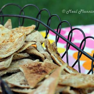 Homemade Crispy Pita Chips