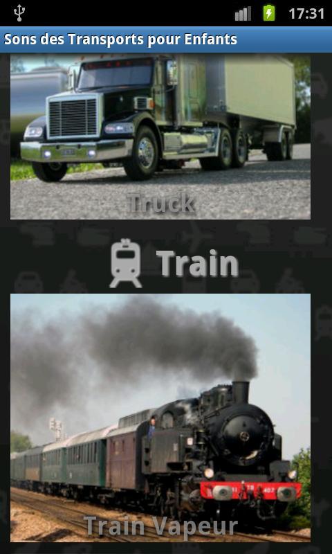 Vehicles Sound for Kids- screenshot