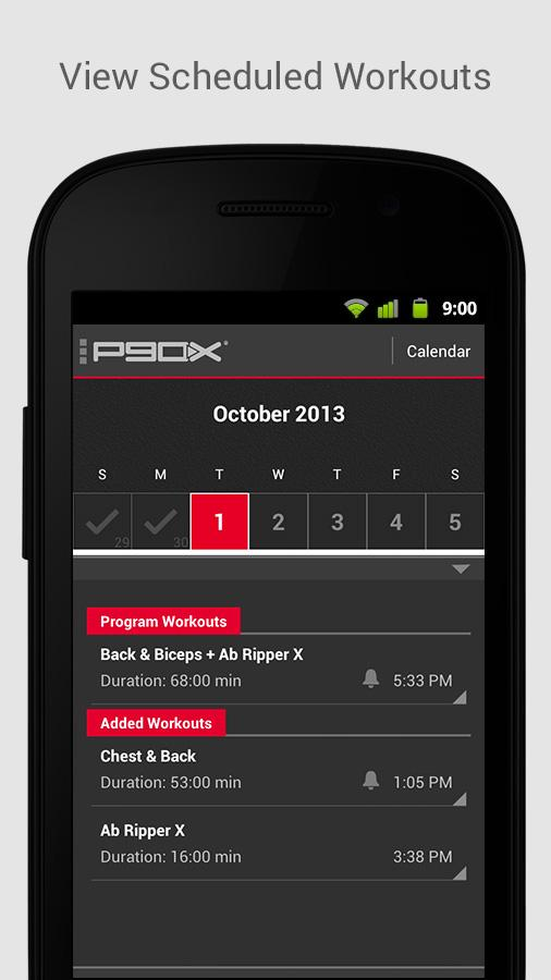 P90X- screenshot