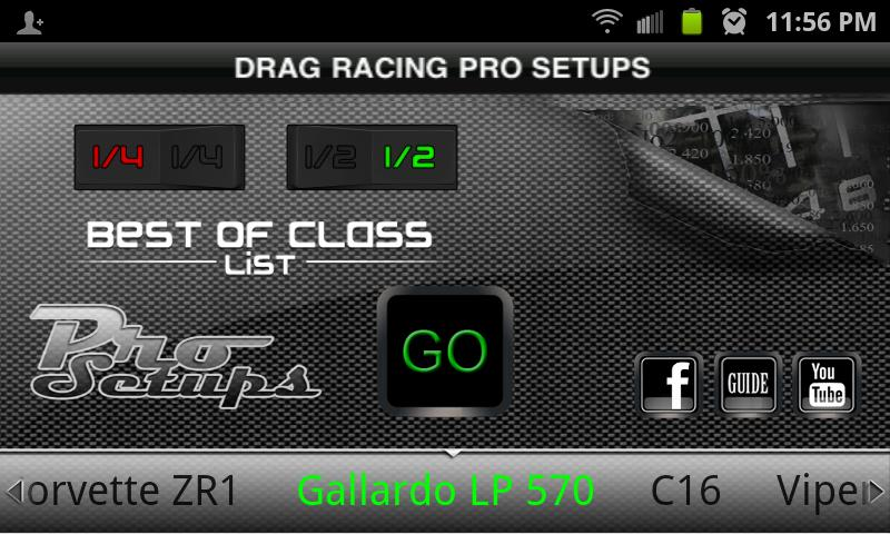 Drag Racing Pro Setups- screenshot