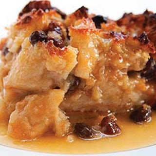Cream Cheese Chocolate Chip Bread Pudding