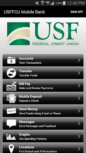 USFFCU Mobile Bank
