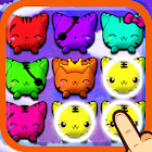 Cat Face Tapped icon