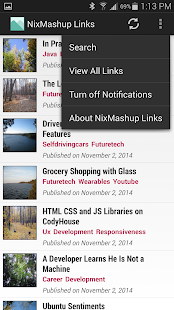 NixMashup Links- screenshot thumbnail