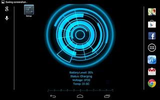 Screenshot of Battery Core Live Wallpaper(F)