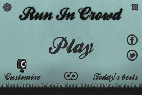 Run In Crowd - screenshot