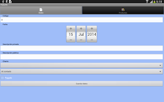 Screenshot of InstantInvoice Lite PDF