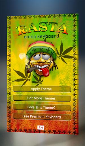 Rasta Emoji Keyboard