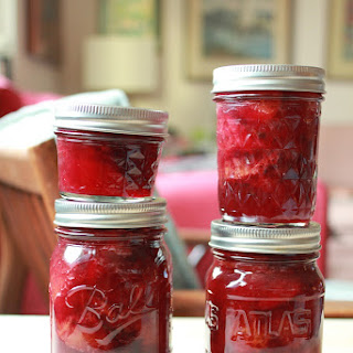 Pickled Italian Plums