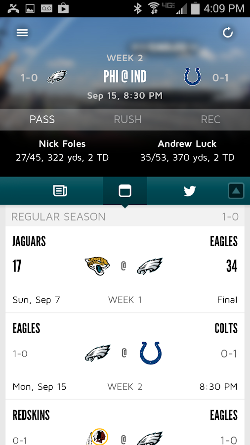 Eagles Official Mobile - screenshot