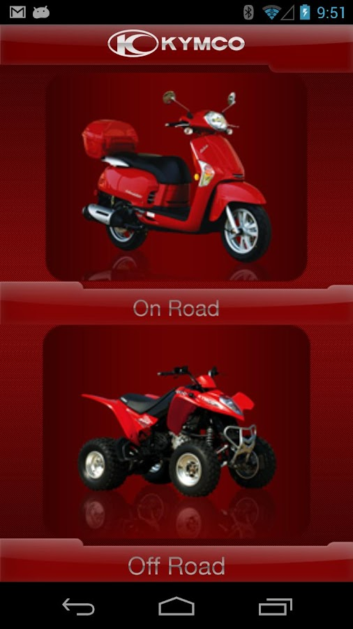 KYMCO- screenshot