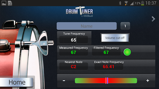 DRUM-TUNER- screenshot thumbnail