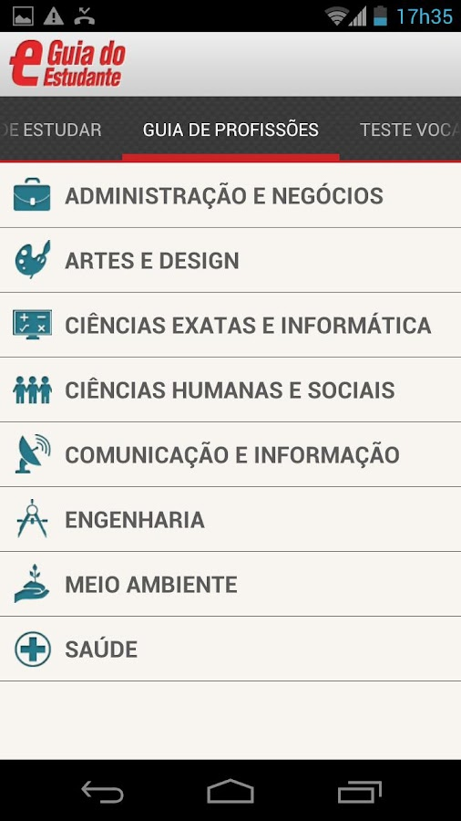 Guia do Estudante- screenshot