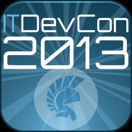 ITDevCon 2013 商業 LOGO-阿達玩APP