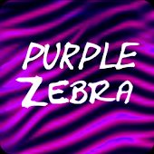 Purple Zebra Keyboard
