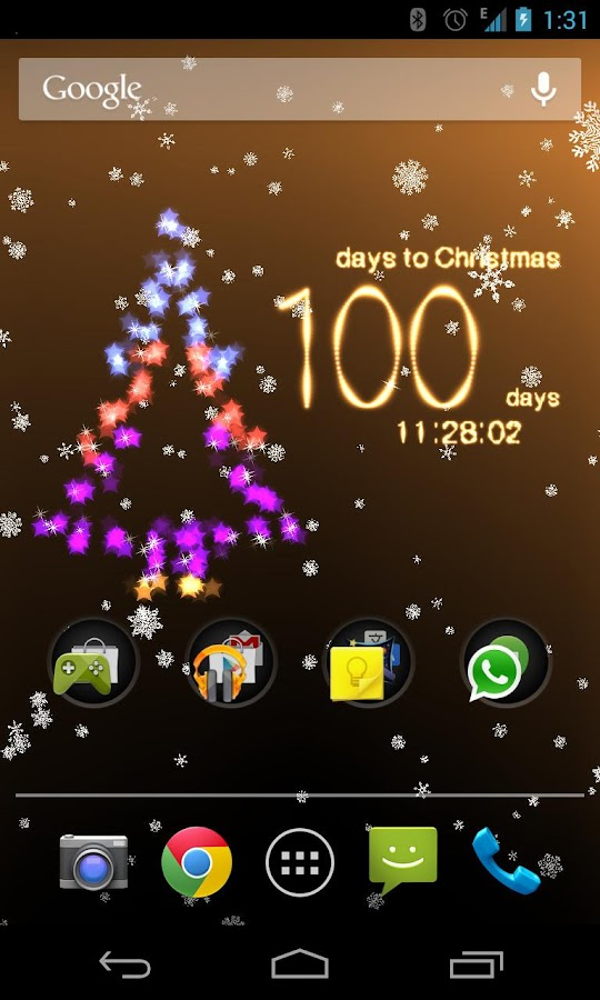 Christmas Countdown - screenshot