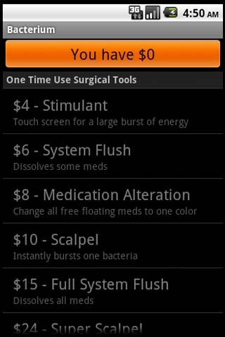 Bacterium FREE - screenshot