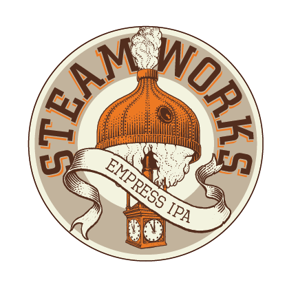 Logo of Steamworks Empress IPA