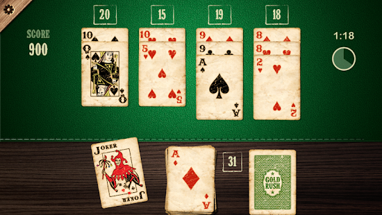 Blackjack Solitaire- screenshot thumbnail