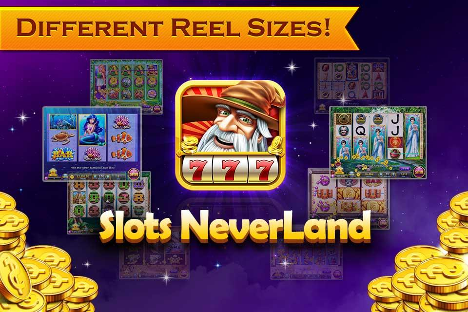 Slots Neverland: slot machines - screenshot