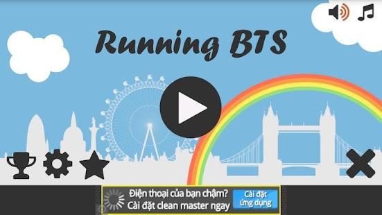 Running Bangtan Boys BTS
