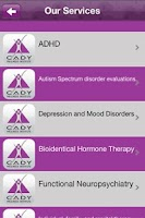 Screenshot of Cady Wellness Institute