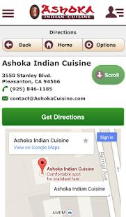Ashoka indian cuisine android apps on google play for Ashoka indian cuisine