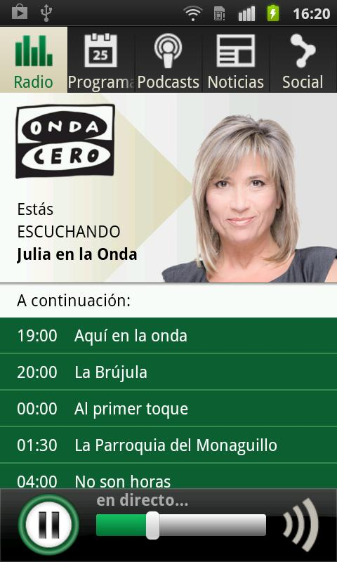 Onda Cero Radio - screenshot