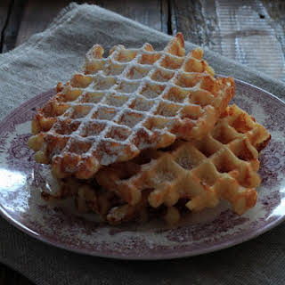 Fat Tuesday Express Buttermilk Waffles (without Rest Periods).