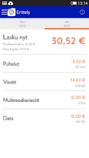 Mobiili OmaElisa - screenshot thumbnail