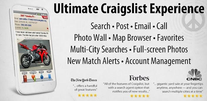 cPRO+ craigslist Client Droid