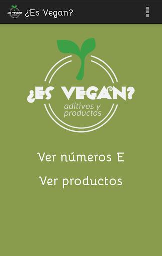 ¿Es Vegan
