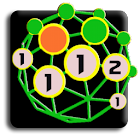 Planet mines 3D icon