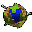 Craft World 3D Live Wallpaper icon